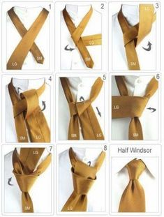 Diy Discover the Half Windsor.I have GOT to learn how to tie a tie! Half Windsor Windsor Knot Cool Tie Knots Cool Ties Simple Tie Knot Suit Fashion Mens Fashion Tie A Necktie Mode Costume Half Windsor, Windsor Knot, Cool Tie Knots, Cool Ties, Simple Tie Knot, Clothing Hacks, Mens Clothing Styles, Suit Fashion, Mens Fashion