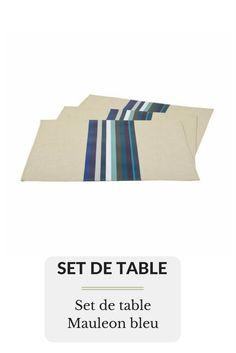 Set de table Mauleon bleu