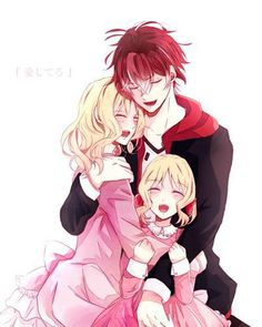 yui ayato and the daughter man only if this could happing in the show that be the best day of my life or something beside gitting a x box xD