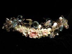 Aqua tiara by Fairy Wings and Mermaid Tales, via Flickr