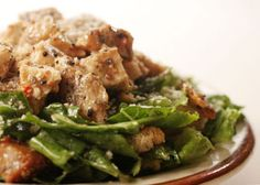 Mom's Caramelized Honey Chicken Caesar Salad | Save The Date