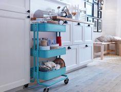 Al je spullen binnen handbereik met de RÅSKOG roltafel. #IKEA