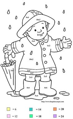 Multiplication - 999 Coloring Pages
