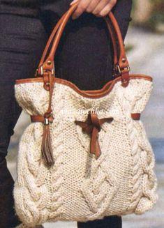 Bolso de lana  ELEGANT   **+