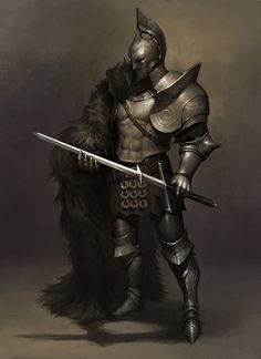 Fun fact: when gladiators or warriors wore no chest plate to cover their vital organs, it was a challenge to their adversary