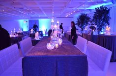 This is the same room that the ceremony took place which was flipped later into a sit down dinner area for the adults. Can you tell that this was the same room ? because I couldn't! #mitzvah #decor #color #trends #inspiration #NYC #venue
