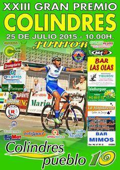 "cartel ""XXIII G.P. COLINDRES"" junior 2015"
