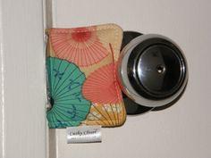 Pretty Parasols - Cushy Closer Door Cushion-cushy closer, door stop, door jammer, parasols, Chinese, Japanese parasols, umbrella, baby,toddler, baby shower gift