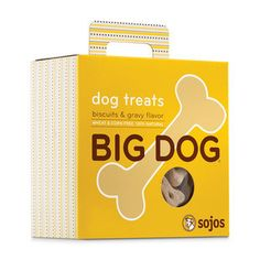 SOJOS BIG DOG BISCUITS AND GRAVY DOG TREATS - BD Luxe Dogs & Supplies