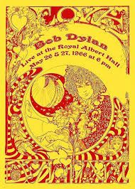 "sixtiestodeath: "" Concert Poster : Bob Dylan live at the Royal Albert Hall Designed by Marijke Koger "" Bob Dylan Live, Bob Dylan Poster, Bob Music, Poster Prints, Art Prints, Gig Poster, Royal Albert Hall, Concert Posters, Folded Cards"