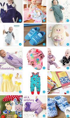 15 Schnittmuster für Babysachen