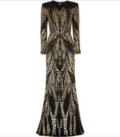 Black Tie Jenny Packham Embellished Gown