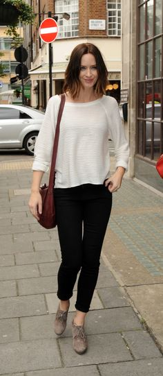 Emily Blunt - casual chic