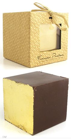 Francois Pralus - Chocolate Cube