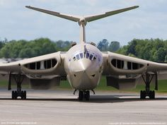 The Handley Page Victor was a British jet bomber aircraft produced by the Handley Page Aircraft Company during the Cold War. It was the third and final of the V-bombers that provided Britain's nuclear deterrent. The other two V-bombers were the Avro Vulcan and the Vickers Valiant.