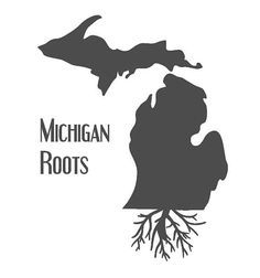 MI roots map artwork - Google Search
