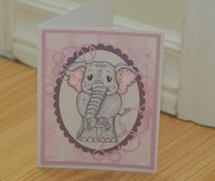 Elephant Bubbles by mayodino - Cards and Paper Crafts at Splitcoaststampers