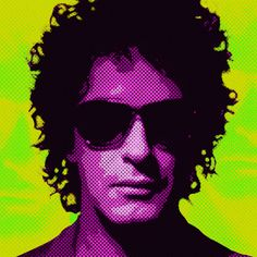 Gustavo Adrian Cerati . Cantante , compositor argentino de la banda  de rock Soda Stereo .   #Picture #Image #Music #Musica #Imagen #Art #Arte #Rock