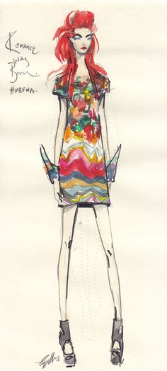 fashion illustration via http://www.pinterest.com/lucyaldridge/final-yr-portfolio-teaching/