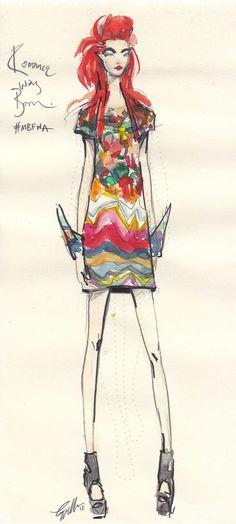 fashion illustration via http://www.pinterest.com/lucyaldridge/final-yr-portfolio-teaching/