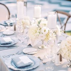 Blue Tablescape