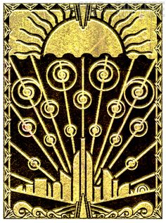 Art Nouveau and Art Deco, My brother was giving me ideas for this blog