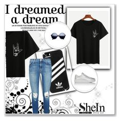 """sheIn"" by lejlar-1 ❤ liked on Polyvore featuring adidas, J Brand and Prada Sport"