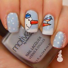 christmas by nailthataccent #nail #nails #nailart