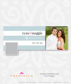 Facebook Cover Template, Facebook Timeline Covers, Wedding Album, Our Wedding, Photography Templates, Save The Date Templates, Save The Date Cards, Infographics, Invites