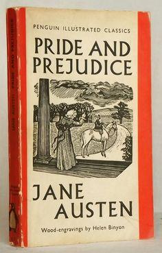 Penguin Illustrated Classics Pride and Prejudice via Etsy.