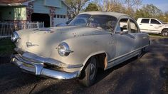 Hearty Project: 1953 Kaiser Deluxe #Projects #Kaiser - https://barnfinds.com/hearty-project-1953-kaiser-sedeluxe/