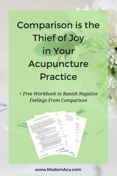 Do you sometimes compare your acupuncture practice to others' and find yourself…