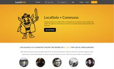 LocalSolo is a local freelancer platform that seeks to connect freelancers and agencies that need their services. With a over twenty-five thousand freelancers. Freelance Websites, Five Thousand