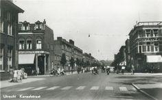 1950-1960. Gezicht in de Kanaalstraat te Utrecht.