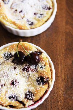 Gourmet Baking: Enjoying the Bounty of Summer: My First Cherry Clafoutis!