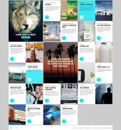 93 ux tile based design ideen web