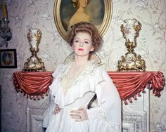 Bette Davis, great photo! From The Little Foxes. Never  saw a color photo.