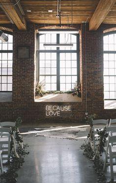 Modern + Boho Alter Design | Modern Wedding Ideas