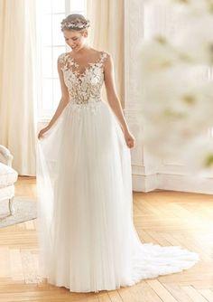 4ea93434a06b gefunden bei Happy Brautmoden Brautkleid elegant