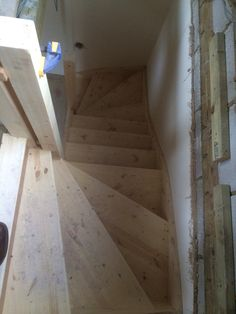 New stair fitted