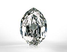 The Mouawad Splendor - 101.84 carats, modified pear shape, D color, internally flawless diamond.