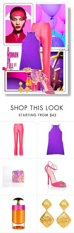 """""""Girls' Night Out: Summer Edition"""" by dezaval ❤ liked on Polyvore featuring Yves Saint Laurent, Antonio Berardi, Joseph, Lipsy, Prada, Chanel, Christian Louboutin, vintage and girlsnightout"""