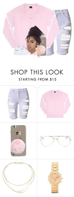 """rare"" by thaofficialtrillqueen ❤ liked on Polyvore featuring Topshop, October's Very Own, Tiffany & Co., BKE and Puma"