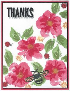 A community site for rubber stamp art, paper craft and scrapbook artists. Petunias, Ladybug, Tea Party, Stampin Up, Card Ideas, Thankful, Paper Crafts, Ink