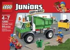 Amazon.com: LEGO Juniors Garbage Truck: Toys & Games