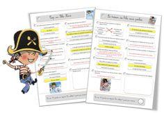 Rallye lecture CE1-CE2 : Plume le pirate - Bout de gomme