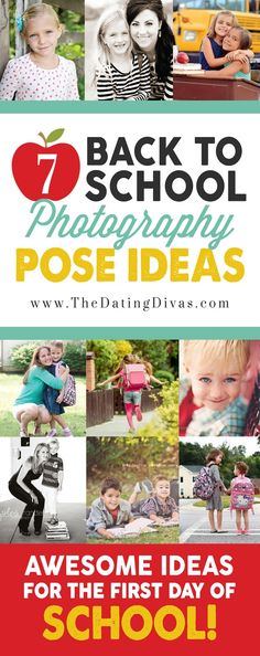 Back to School Photography Pose Ideas