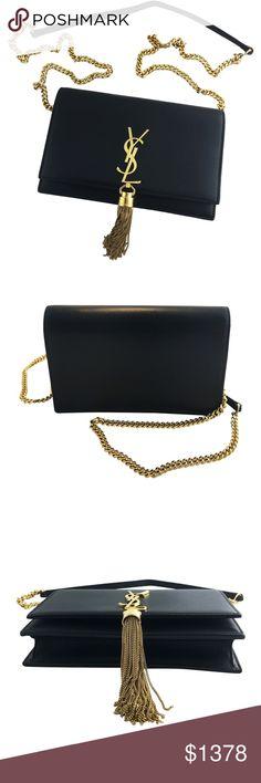 181e4949135 YSL Kate Crossbody Tassel Handbag Stunning YSL Kate Crossbody Handbag with  the Tassel  Black Leather