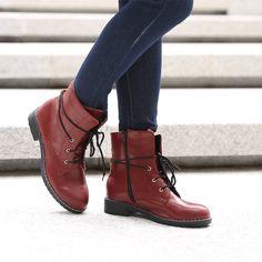Boots met Veterlus Achter