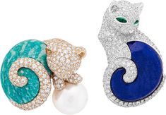 animal jewelry, cat